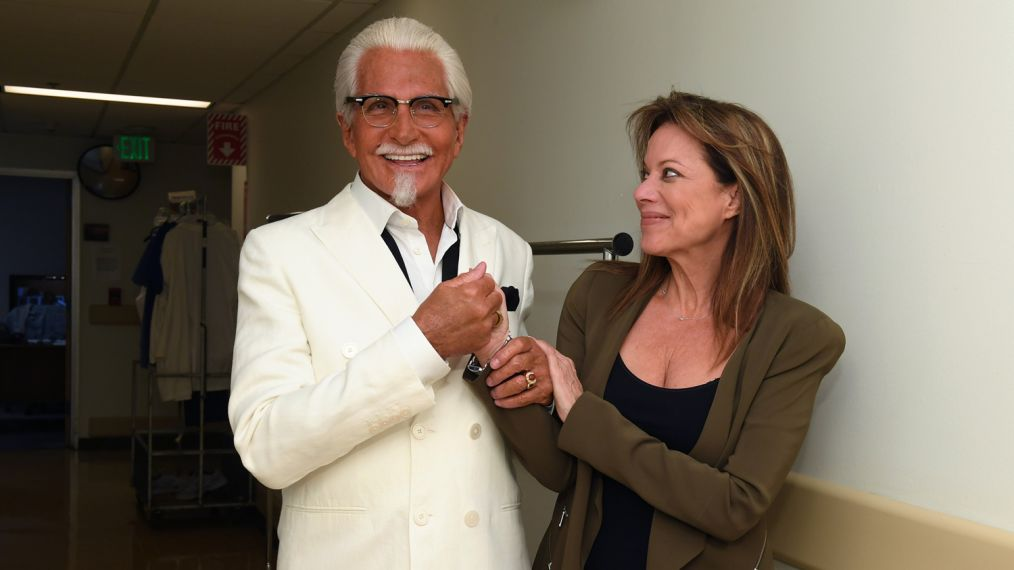 Exclusive First Look: George Hamilton on 'General Hospital' as KFC's Colonel Sanders (PHOTOS)