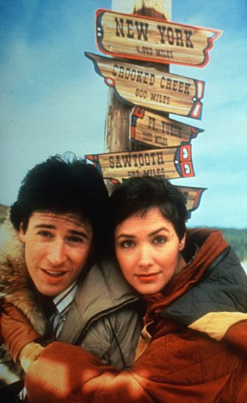 NORTHERN EXPOSURE - Rob Morrow, Janine Turner