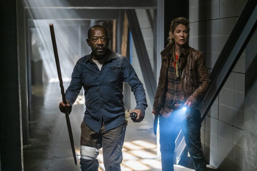 Fear the Walking Dead Morgan Naomi