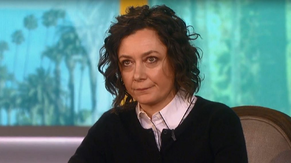 The Talk's Sara Gilbert on 'Roseanne' Cancellation: 'It's Sad to See It End in This Way' (VIDEO)