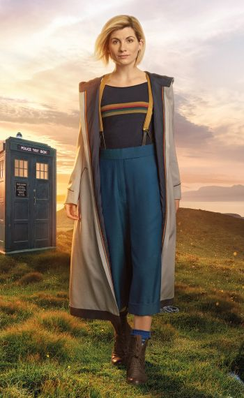 Doctor Who - Jodie Whittaker - Picture shows: The Doctor (Jodie Whittaker)