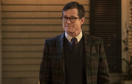 "Life Sentence -- ""Our Father the Hero"" -- Image Number: LFS107b_0172.jpg -- Pictured: Dylan Walsh as Peter -- Photo: Jack Rowand/The CW -- © 2018 The CW Network, LLC. All rights reserved."