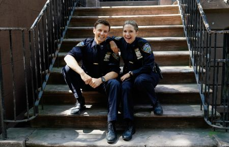 BLUE BLOODS - Will Estes, Vanessa Ray -