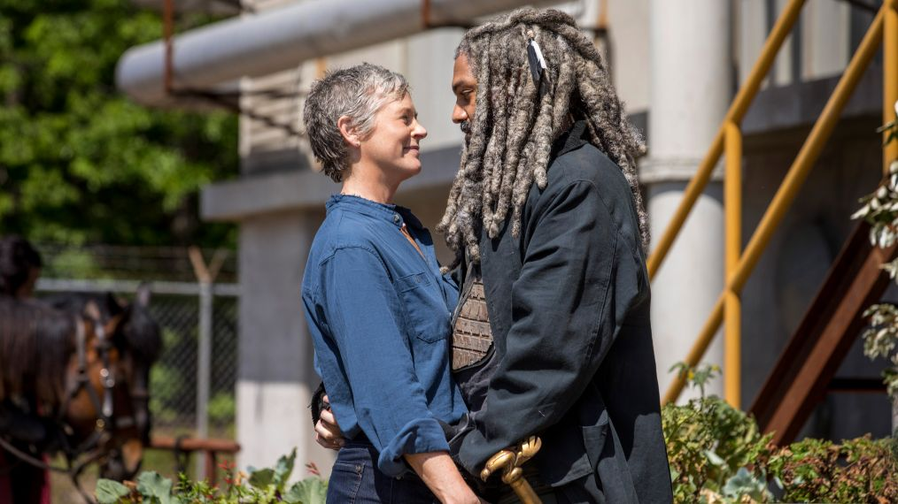 The Walking Dead - Khary Payton, Melissa McBride