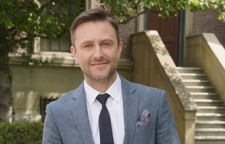 "NBCUNIVERSAL EVENTS -- 2018 Summer Press Day -- Pictured: Chris Hardwick, NBC's ""The Wall/The Red Nose Day Special -- (Photo by: Paul Drinkwater/NBCUniversal)"