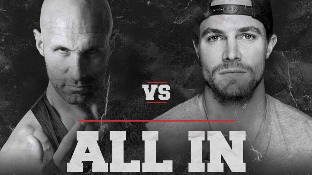 Ring of Honor's Christopher Daniels Says 'All In' Match With Stephen Amell Will Surprise People