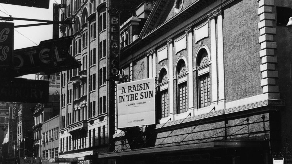 Marquee Advertising 'A Raisin In The Sun'