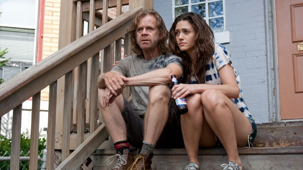 Shameless 206 William Macy Says Emmy Rossums Exit Is