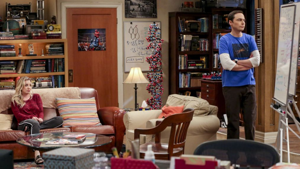Jim Parsons & Kaley Cuoco Take Fans Behind-the-Scenes of 'Big Bang Theory' (PHOTOS)