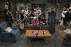 'The Conners' Halloween: Crazy Costumes, Family Drama & Matthew Broderick! (PHOTOS)