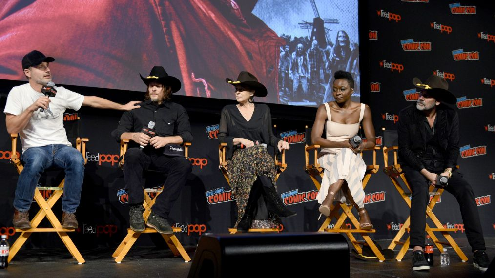 'The Walking Dead' Boss Confirms 3 Stars to Return for Season 9 & More at NYCC