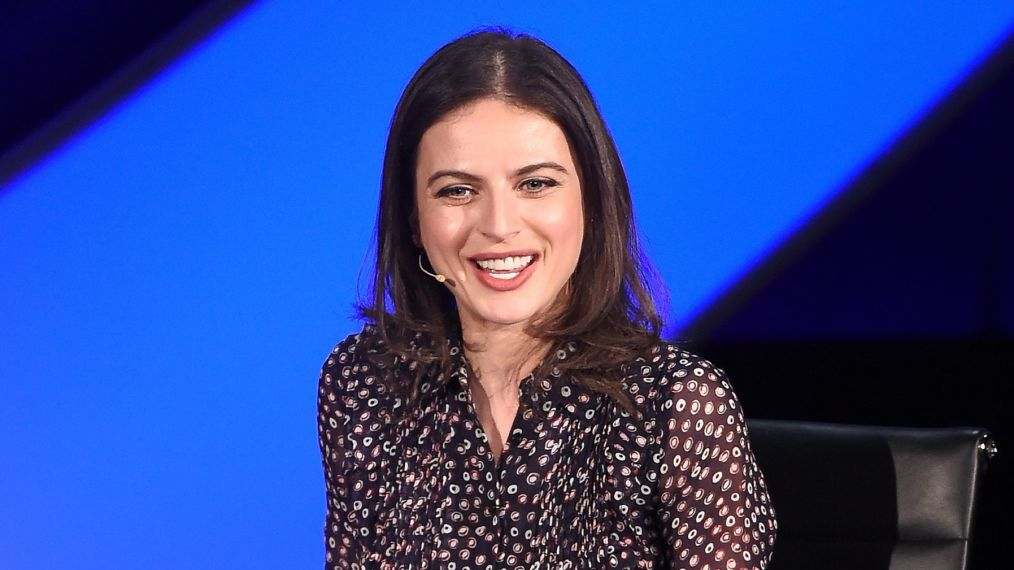 NEW YORK, NY - APRIL 13: Bianna Golodryga speaks on stage at the 2018 Women In The World Summit at Lincoln Center on April 13, 2018 in New York City. (Photo by Nicholas Hunt/Getty Images)