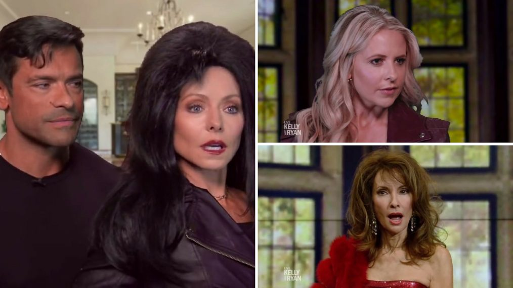 Sarah Michelle Gellar, Susan Lucci, Kelly Ripa & Mark Consuelos Reteam for 'All My Children' Spoof (VIDEO)