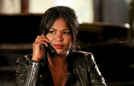 """Asesinos"" -- Pictured: Nia Long (Executive Assistant Director Shay Mosley). The NCIS team attempts to locate Mosley after she murders a cartel hitman and goes off the grid, on NCIS: LOS ANGELES, Sunday, Nov. 4 (9:00-10:00 PM, ET/PT) on the CBS Television Network. Photo: Michael Yarish/CBS ©2018 CBS Broadcasting, Inc. All Rights Reserved."