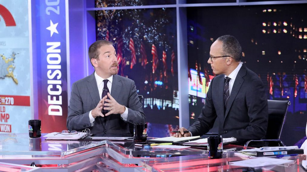 NBC Anchors Lester Holt & Chuck Todd Preview the 'Record-Breaking' Midterm Elections
