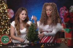 'Life-Size 2' Stars Francia Raisa & Tyra Banks Test Their Tree-Decorating Skills (VIDEO)