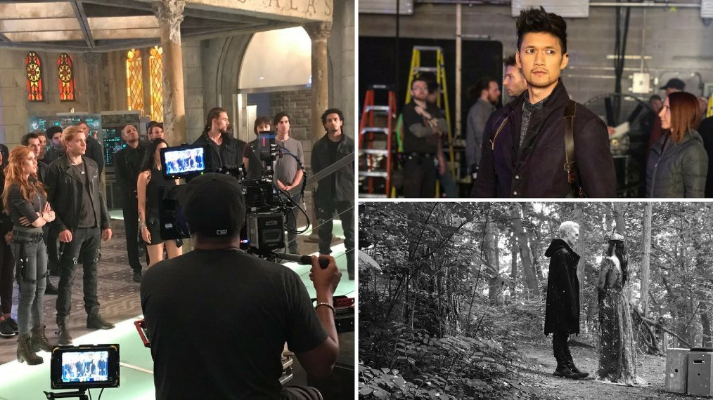 'Shadowhunters': Go Behind the Scenes of the Final Episodes (PHOTOS)