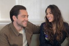 'Outlander' Season 4: Sophie Skelton & Richard Rankin Tease Singing, Dancing & Danger! (VIDEO)