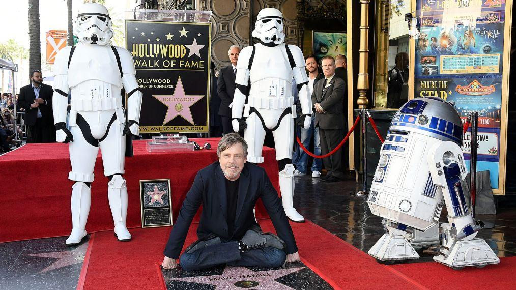 Hollywood Walk of Fame - Mark Hamill