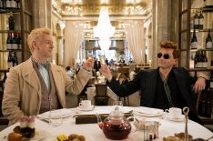 'Good Omens' Preview: Michael Sheen, David Tennant & Jon Hamm Tease Their Characters