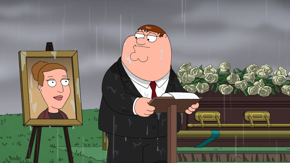 'Family Guy' Pays Tribute to the Late Carrie Fisher With Special Funeral Scene (VIDEO)