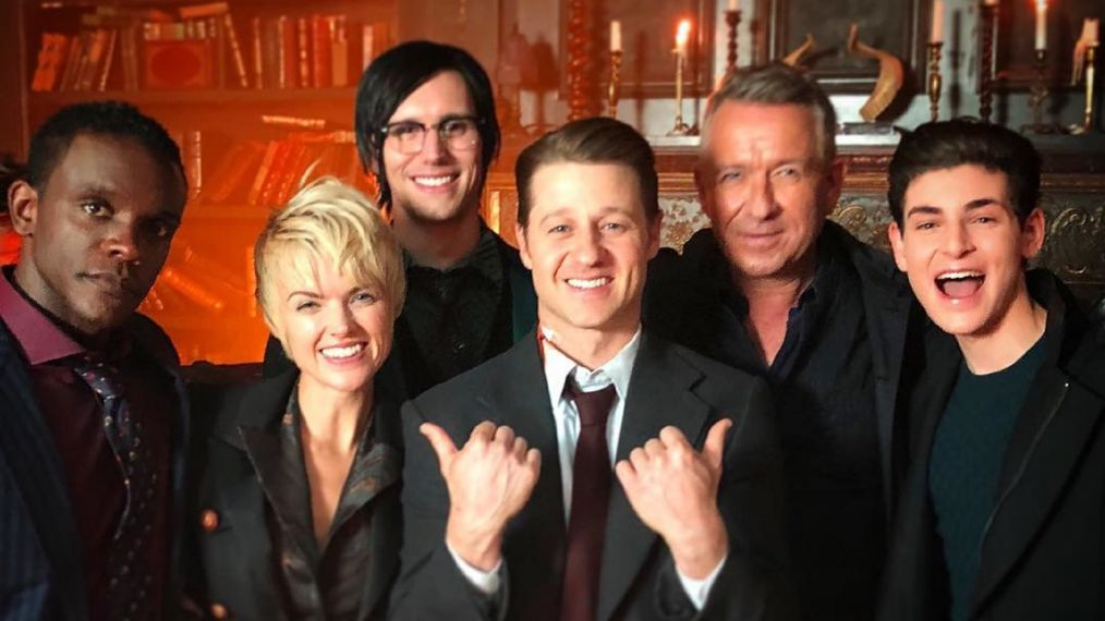 'Gotham' Wraps Filming on the Final Season — See How the Cast Said Goodbye (PHOTOS)