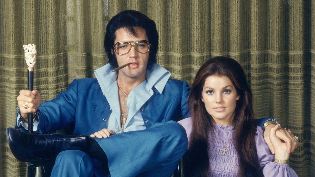 Elvis Presley and Priscilla