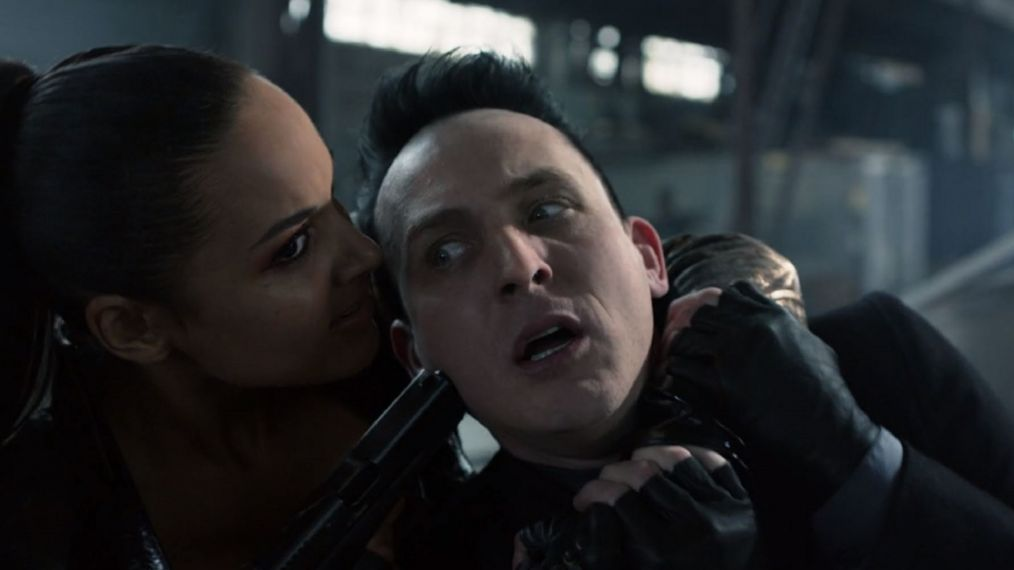 Image result for gotham season 5 penguin and tabitha