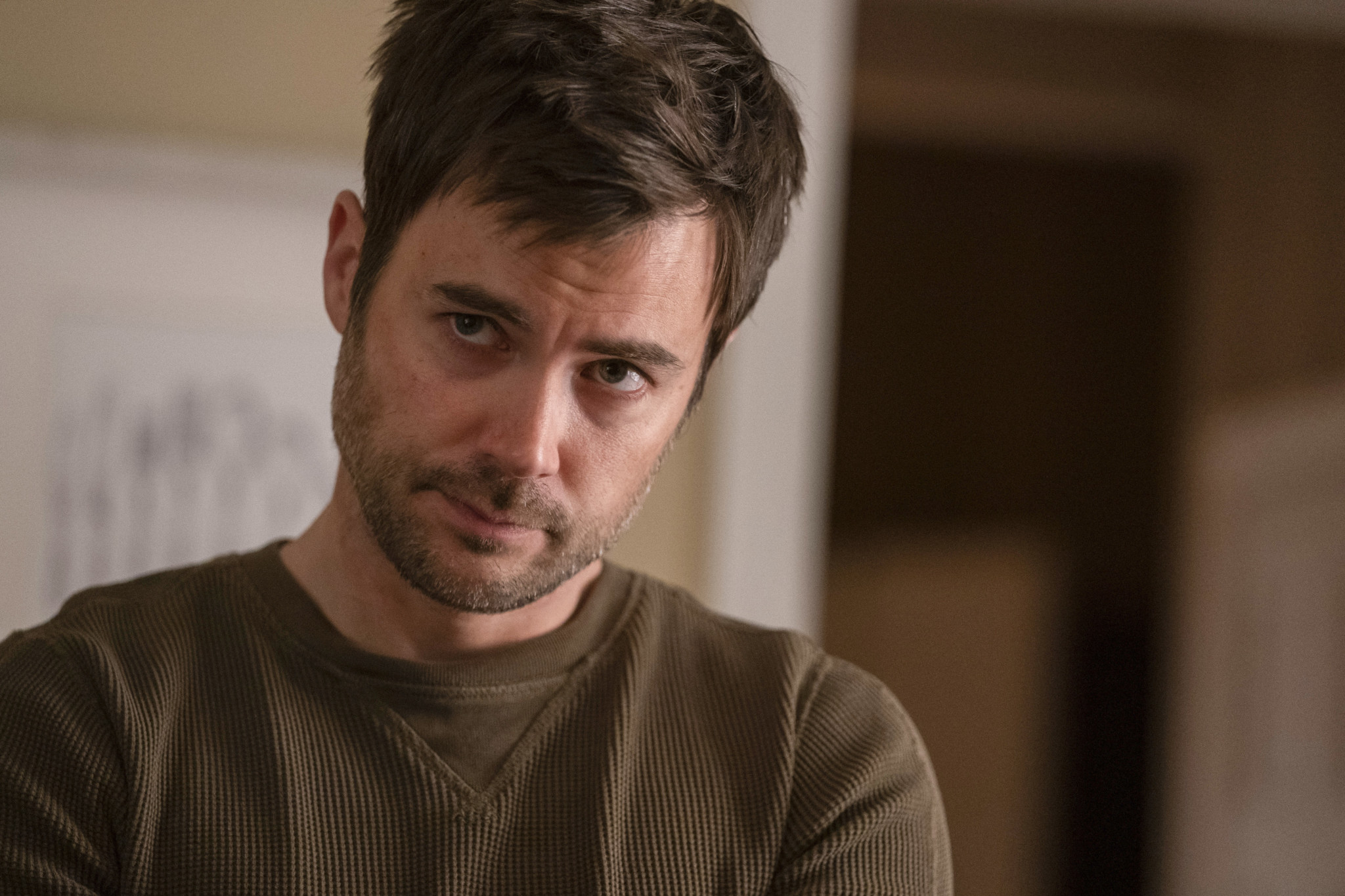 Manifest Newbie Matt Long Teases A Zeke Michaela Jared Love Triangle