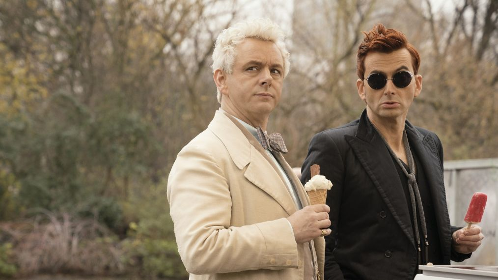 'Good Omens': David Tennant & Michael Sheen Are Unlikely Pals Under Pressure in New Trailer (VIDEO)