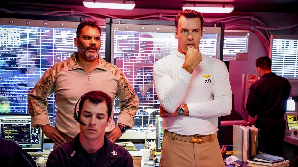 'NCIS: LA': David James Elliott on Harm & Mac's 'Distance' & That 'JAG' Coin Toss