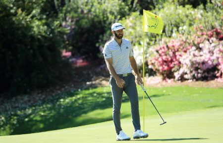 Dustin Johnson 2019 Masters