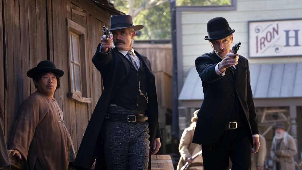 'Deadwood: The Movie': Timothy Olyphant on 'the Fight for the Soul' of the Town