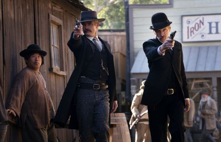 Deadwood - Timothy Olyphant, John Hawkes