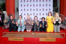 'The Big Bang Theory' Cast Honored With Historic Handprint Ceremony (PHOTOS)