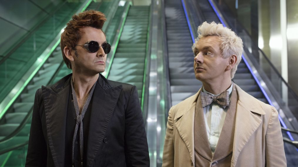 Neil Gaiman Calls 'Good Omens' the 'Funniest Story I Could Tell About the End of the World'