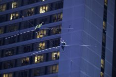 Did You Watch Nik Wallenda & Sister Lijana's Highwire Walk Over Times Square? (POLL)