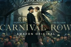 'Carnival Row': First Look at Orlando Bloom & Cara Delevingne in Amazon's Fantasy Drama (VIDEO)