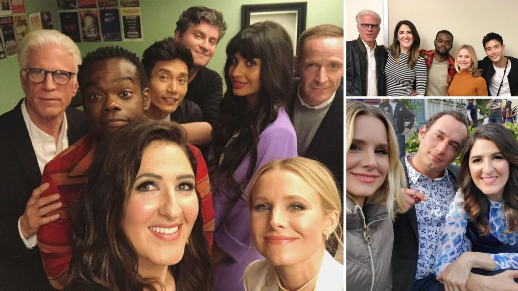 'The Good Place': Behind the Scenes of the Final Season With the Cast (PHOTOS)