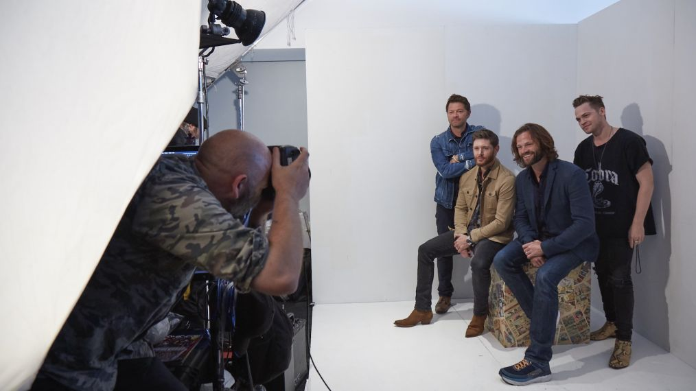 Behind the Scenes With the 'Supernatural' Guys at Their Last Comic-Con (PHOTOS)
