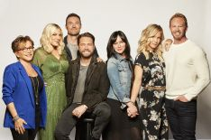 'BH90210' Cast on Getting the Band Back Together & Paying Tribute to Luke Perry