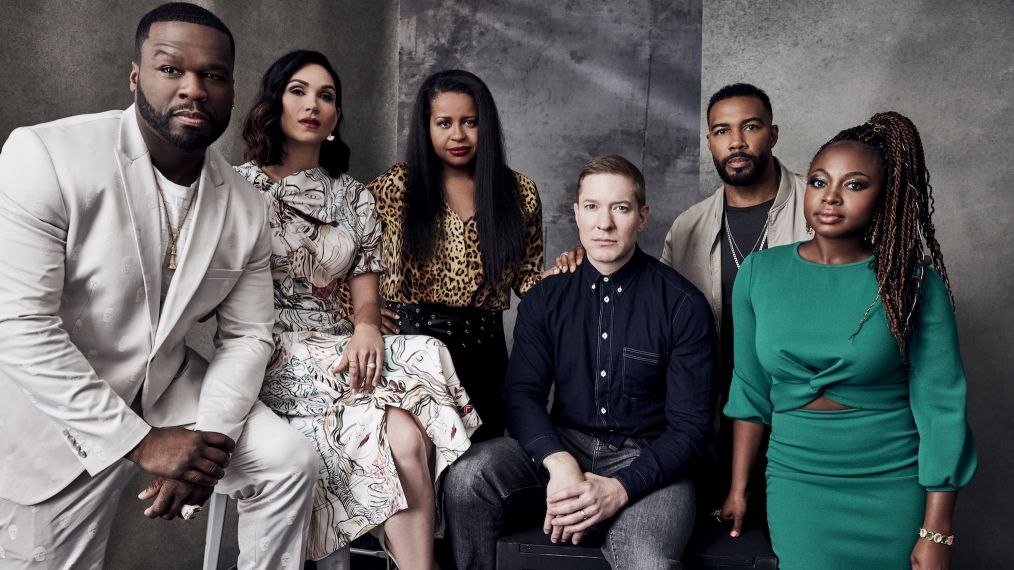 See the 'Power' Cast in Our TCA Studio Ahead of Their Final Season (PHOTOS)