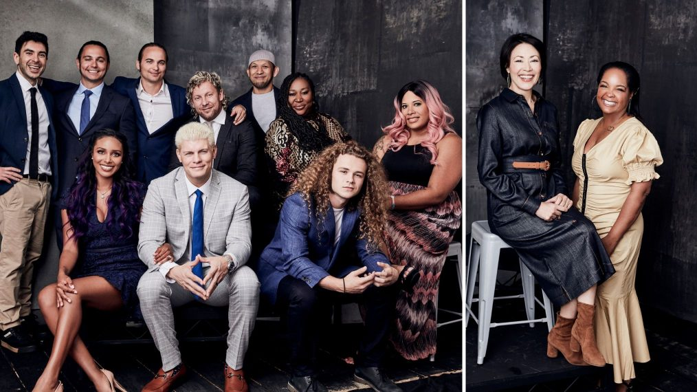 All Elite Wrestling & More TNT Stars in Our TCA 2019 Portrait Studio (PHOTOS)