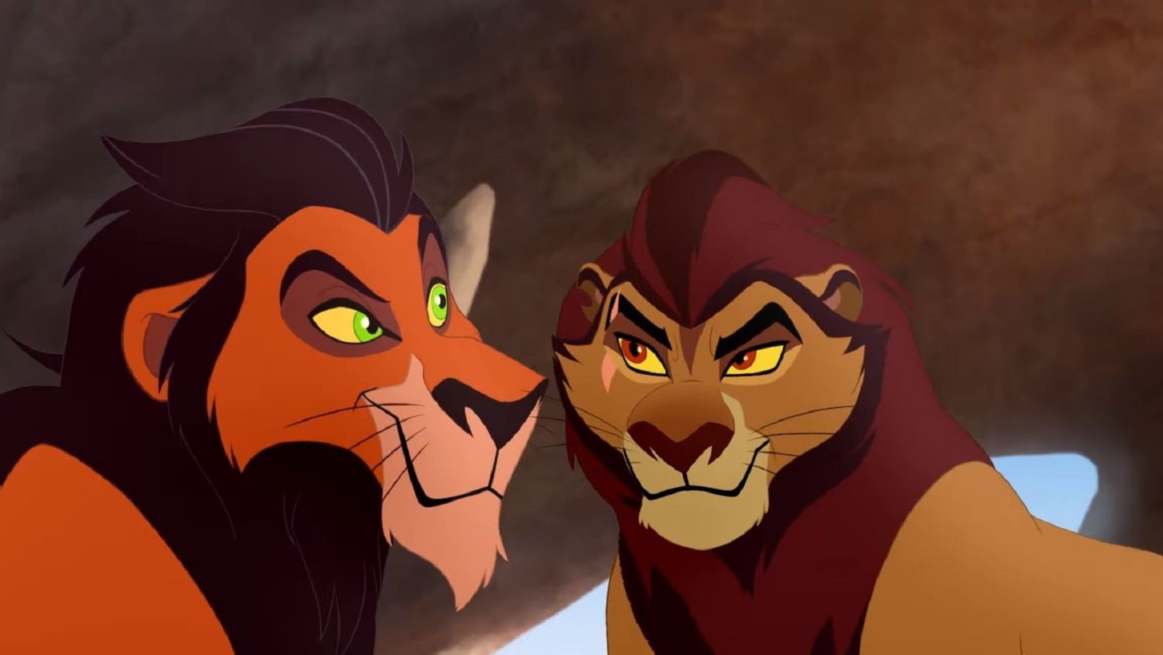 The Lion Guard Sneak Peek Find Out How Scar Got His Scar Video Tv Insider