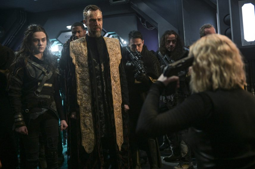 The 100': Everything Goes Up in Flames in 'The Blood of