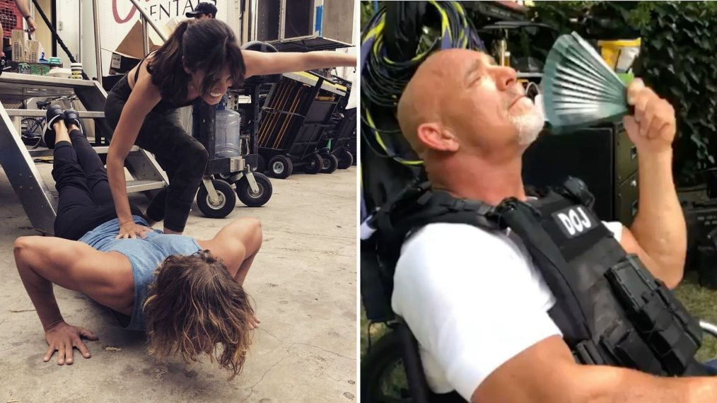 Behind the Scenes of 'NCIS: LA' Season 11 With the Cast (PHOTOS)