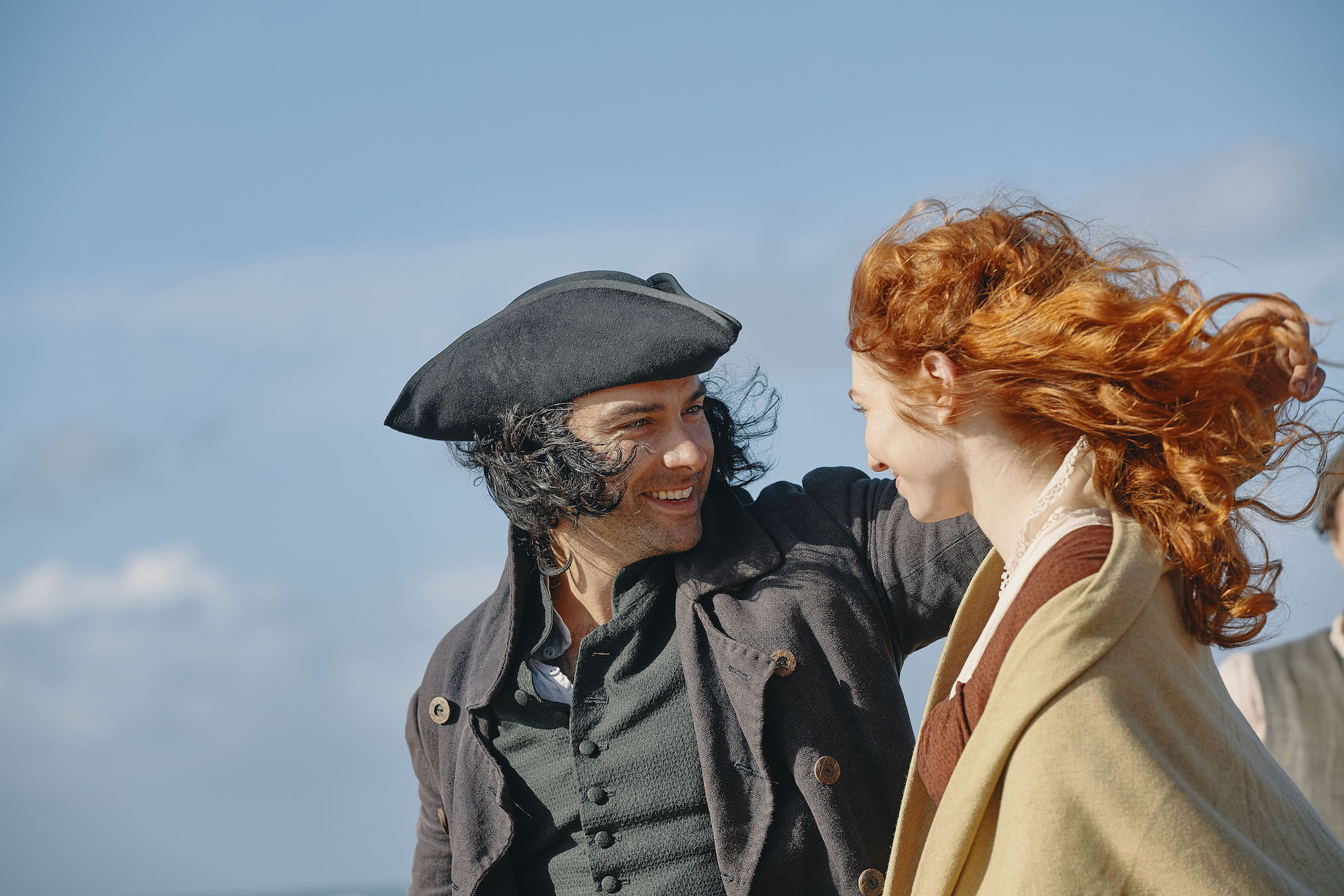 Poldark' Cast & EP Preview Ross and Demelza's Troubles in