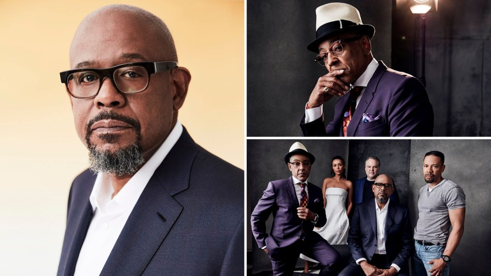 See EPIX's 'Godfather of Harlem' Cast in Our TCA Studio (PHOTOS)