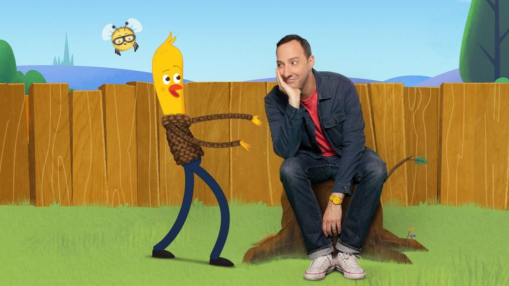 'DreamWorks Archibald's Next Big Thing' First Look: Creator Tony Hale Meets Archibald (VIDEO)