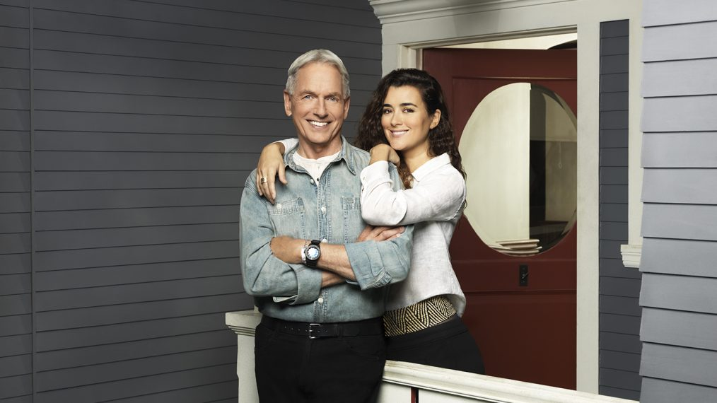 Mark Harmon and Ziva